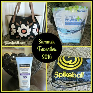Summer Favorites 2016