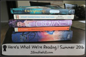 Here's What We're Reading!  Summer 2016