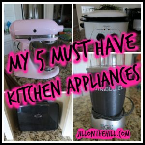 "My 5 ""Must Have"" Kitchen Appliances"