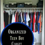 Organized Teen Boy Closet