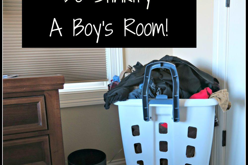 Ask Ms. Jilly-  5 Ways to De-stinkify a boy's room