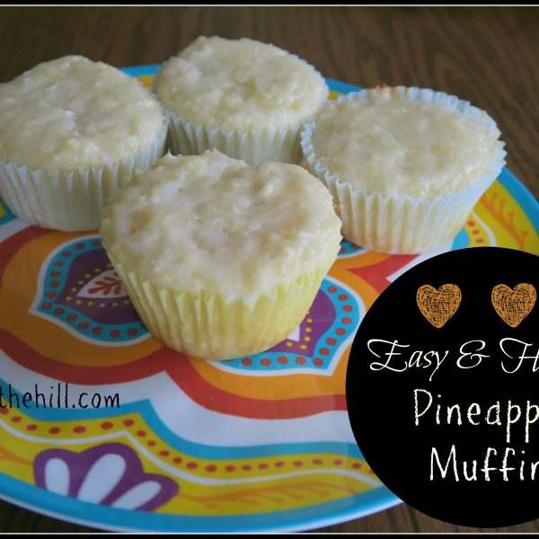 Easy & Healthy Pineapple Muffins