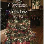 Christmas: Stress Less- Part 3 (December)
