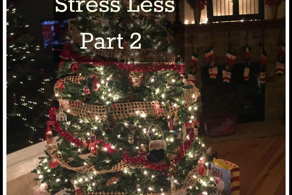 Christmas: Stress Less- Part 2  (November)