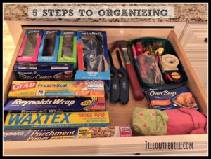 5 Steps to Organize a Space