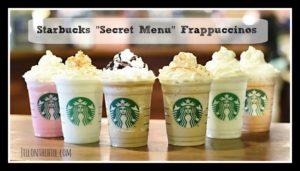 "Starbucks ""Secret Menu"" Frappuccinos!"