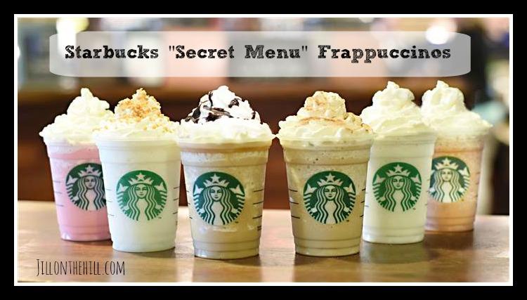 "Starbucks ""Secret Menu"" Frappuccinos!"