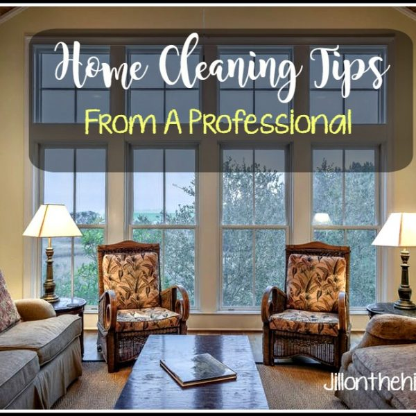 Home Cleaning Tips from A Professional !