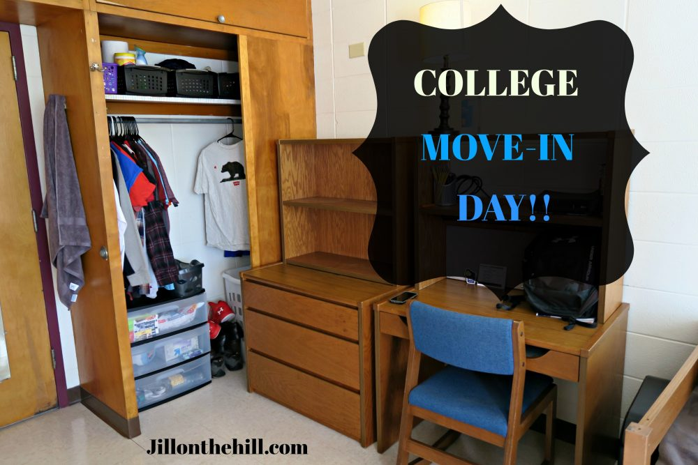 College Move in day!!