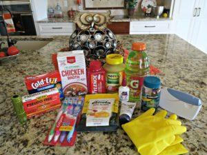 Be Prepared…the sick kit