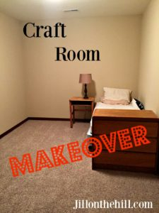 Craft Room Make-Over!!
