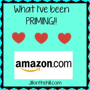 What I've Been Priming…