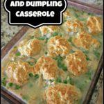 Basil Chicken and Dumpling Casserole