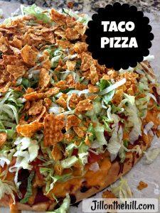 Taco Pizza ( Happy Joe's Inspired)