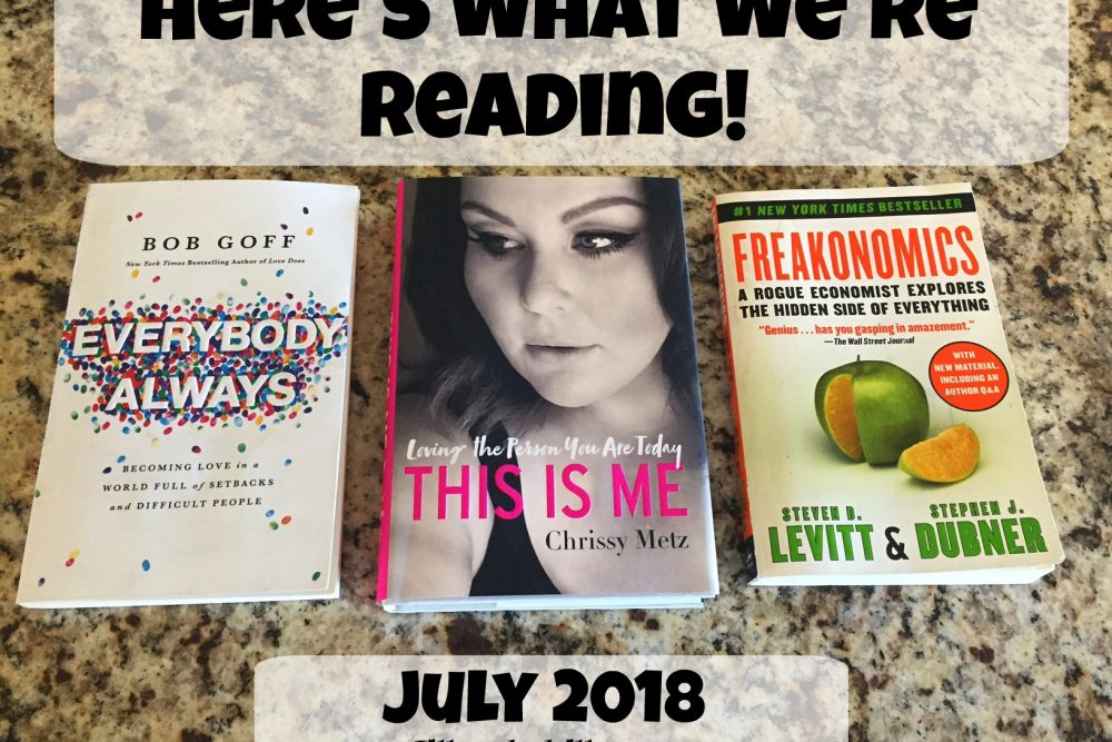 What We're Reading- July 2018
