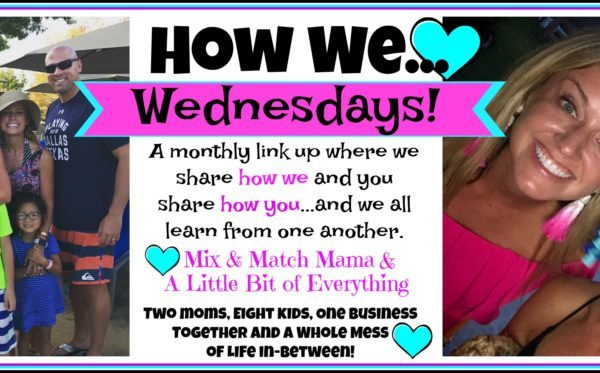 How We…Meal Plan and Share Recipes!