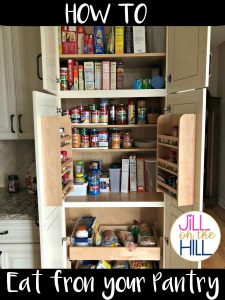 Meal Planning From Your Pantry!