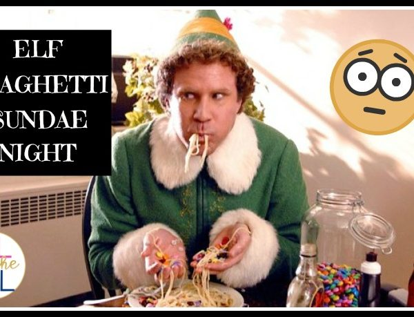 Elf Spaghetti Sundae Night