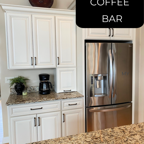 Let's Look- Our Coffee Bar Area