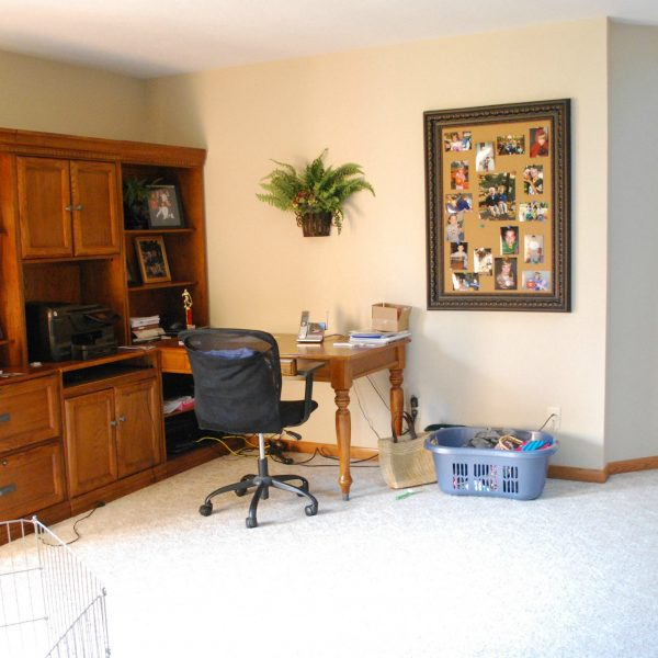 91 Day De-Cluttering Challenge- The Office