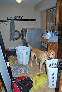 91 Day De-clutter Challenge- Laundry Room!!