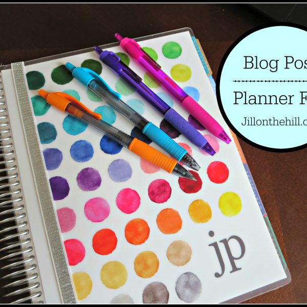 Planner Fun!!