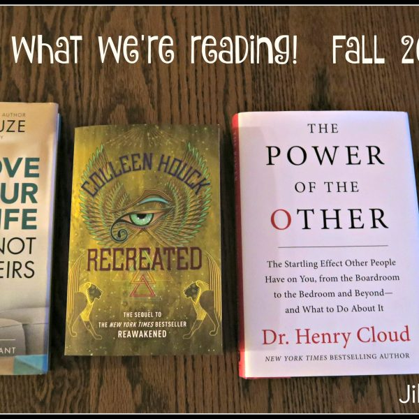 Here's What We're Reading!!  Fall 2016
