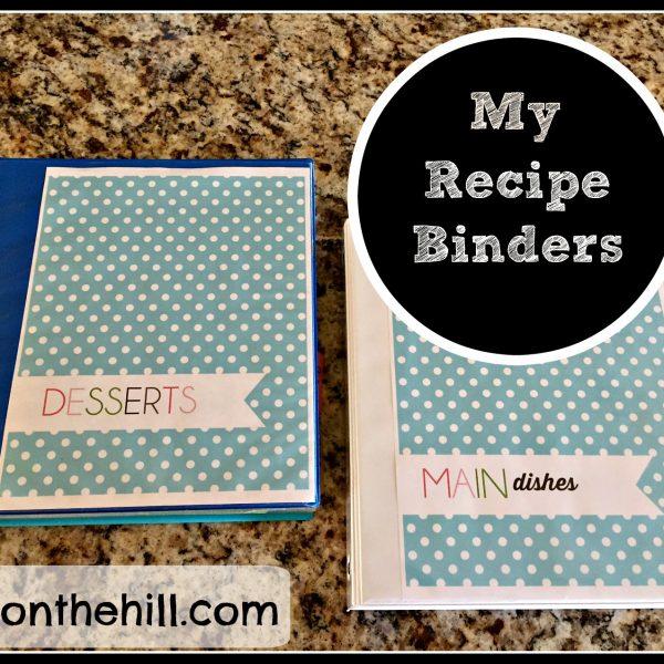 My Recipe Binders