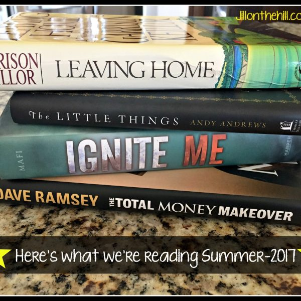 Here's What We're Reading- Summer 2017
