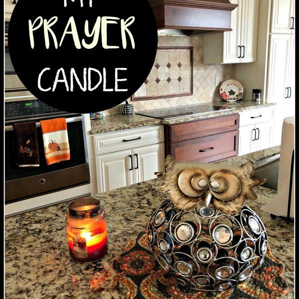 My Prayer Candle
