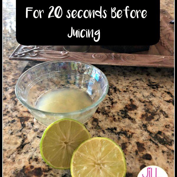 Tip Tuesday!! Lemon/Lime Juice