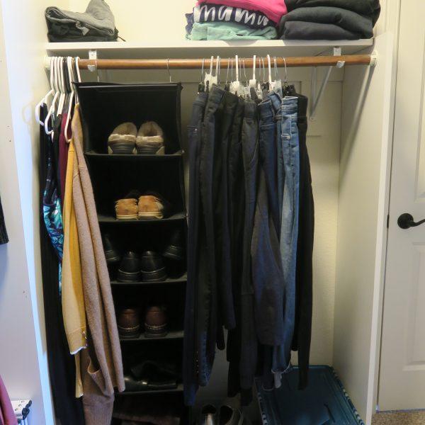 Simplify: Master Closet Corner