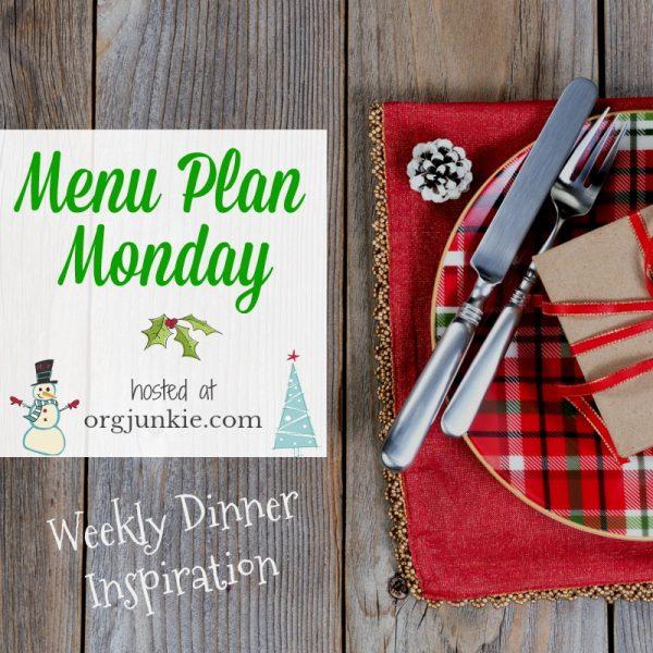Menu Plan Monday!