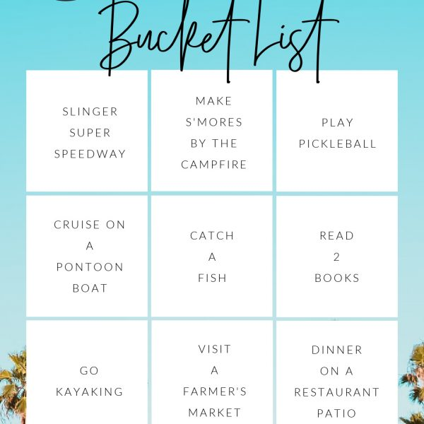 Summer Bucket List 2021